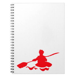 Canoe Spiral Note Book