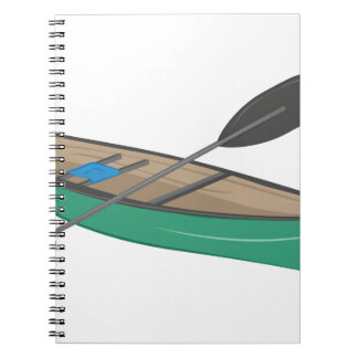 Canoe Spiral Note Books
