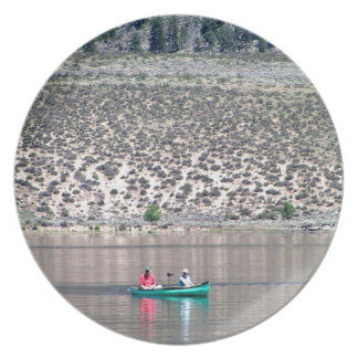 Canoe the Similkameen River in BC, Canada Plate
