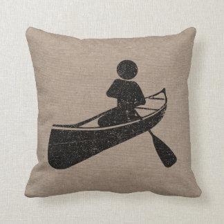Canoeing At Play Cushion