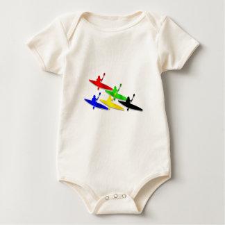 Canoeing Kyaking Canoe kyak water sports Baby Bodysuit