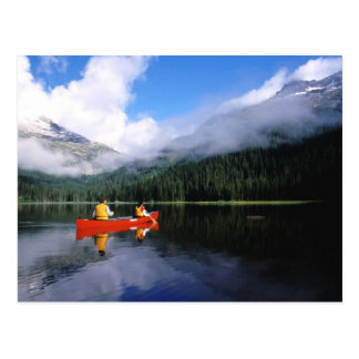 Canoeing on the International Selkirk Loop Postcard