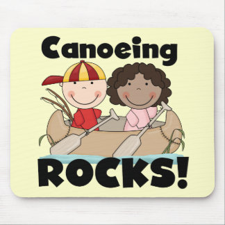 Canoeing Rocks One Tshirts and Gifts Mouse Pad