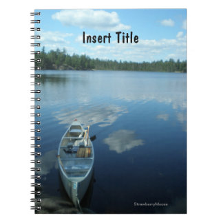 Canoeing the Boundary Waters v.1 Notebook