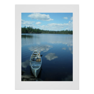 Canoeing the Boundary Waters v.1 Poster