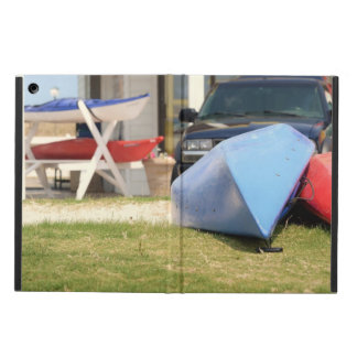 Canoes And Kayaks by Shirley Taylor iPad Air Cover