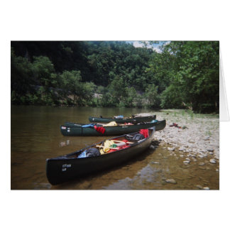 Canoes Card