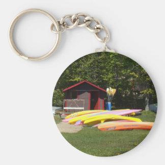 Canoes Key Ring