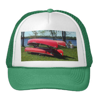 Canoes on a Sunny Day Cap