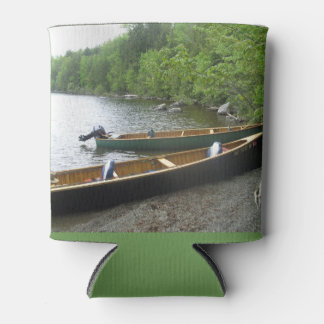 Canoe's on East Grand Lake in Maine. Can Cooler
