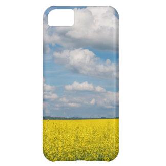 Canola Field & Clouds iPhone 5C Case