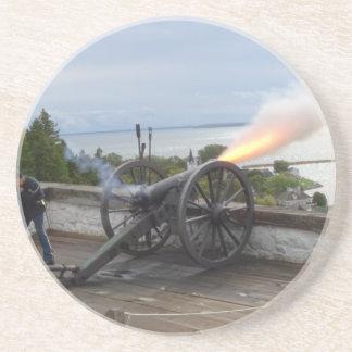 Canon Firing Coaster
