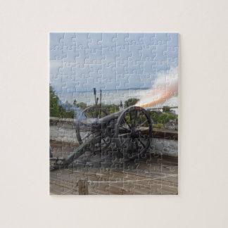 Canon Firing Jigsaw Puzzle