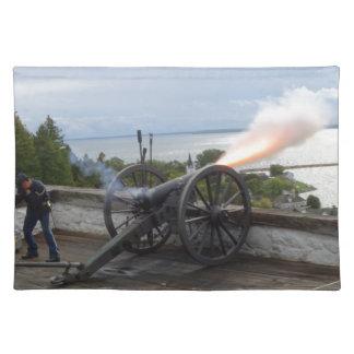 Canon Firing Placemat