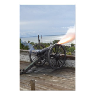 Canon Firing Stationery