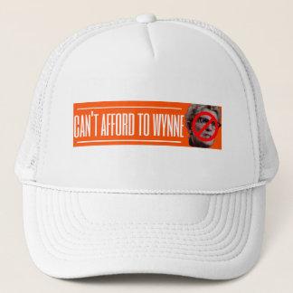 'Can't Afford to Wynne' Cap