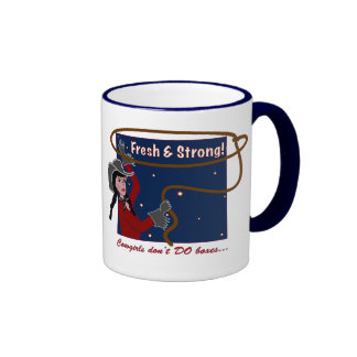 Can't Box Cowgirls Mug