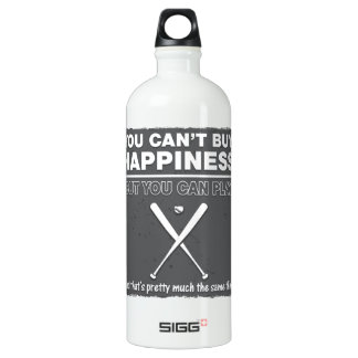Can't Buy Happiness Baseball SIGG Traveller 1.0L Water Bottle