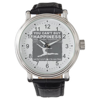 Can't Buy Happiness Dance Wristwatches