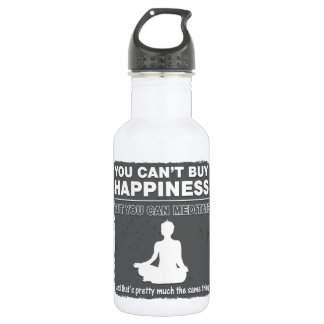 Can't Buy Happiness Meditate 532 Ml Water Bottle