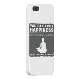 Can't Buy Happiness Meditate Case For iPhone 5/5S