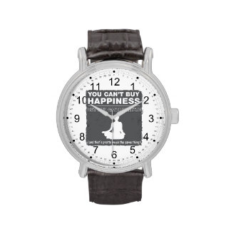 Can't Buy Happiness Meditate Wrist Watches