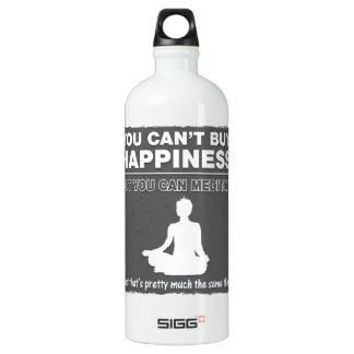 Can't Buy Happiness Meditate SIGG Traveller 1.0L Water Bottle