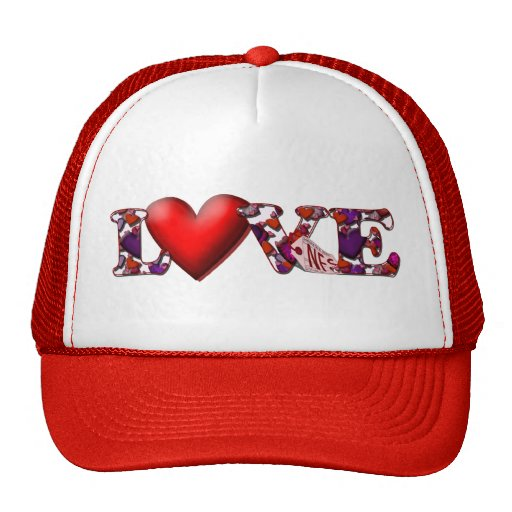 Can't Buy Me Love! Mesh Hats