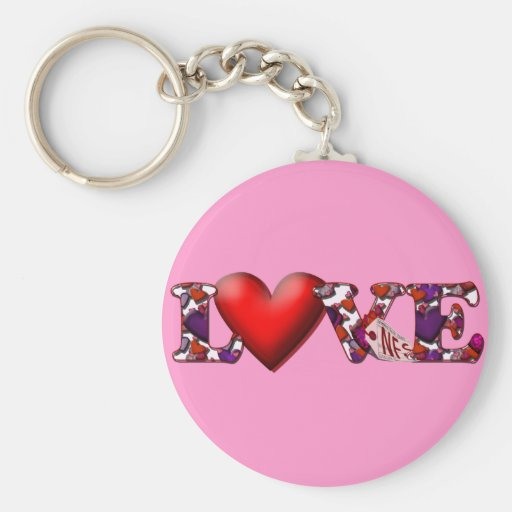 Can't Buy Me Love! Keychain