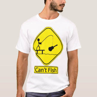 Can't Fish Official Band T-Shirt