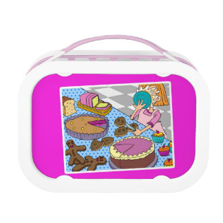 Can't get Enough Cake! Pink yubo Lunch Box