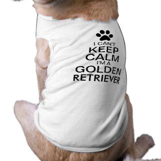 Can't Keep Calm Golden Retriever Dog Shirt