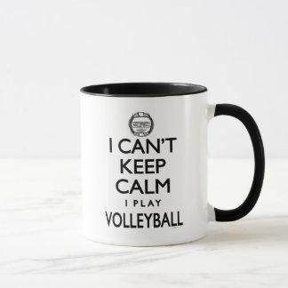 Can't Keep Calm Volleyball Mug