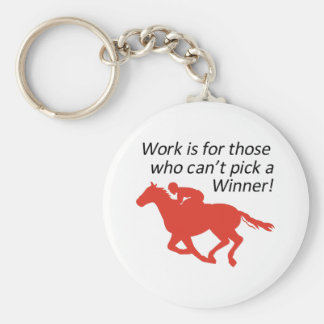 CANT PICK A WINNER KEYCHAIN