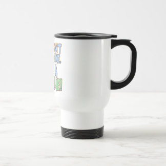 Can't Scare Me I'm A Goalie Stainless Steel Travel Mug