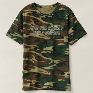 Can't See Me Men's Camouflage T-shirt