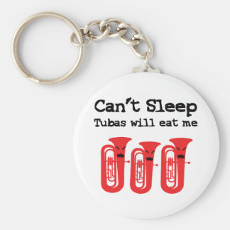 Can't Sleep, Tubas Will Eat Me Key Ring