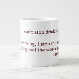Can't Stop Large Coffee Mug