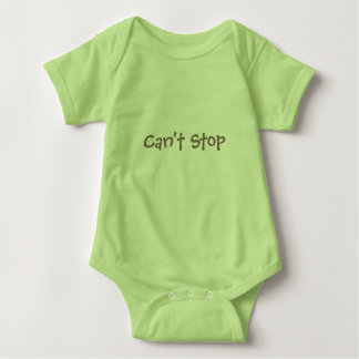 Can't stop - won't stop baby bodysuit