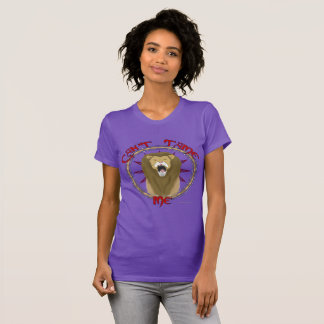 Can't Tame Lion Ladies Jersey T-Shirt