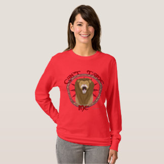 Can't Tame Lion Ladies Long Sleeve Shirt