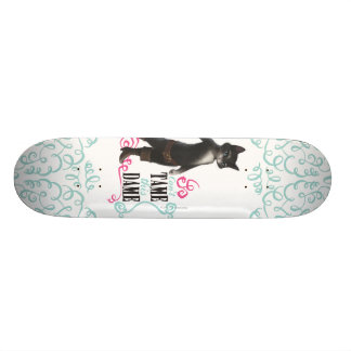 Can't Tame This Dame (color) 21.6 Cm Skateboard Deck