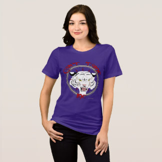 Can't Tame Tiger Ladies Relaxed Fit T-Shirt