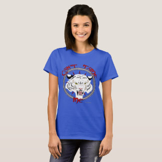 Can't Tame Tiger Ladies T-Shirt