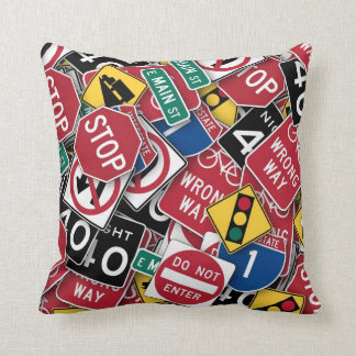 Can't You Read The Signs Cushions