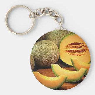 Cantaloupe Key Ring