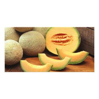 Cantaloupes Photo Card Template