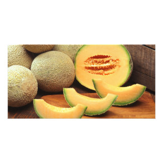 Cantaloupes Picture Card
