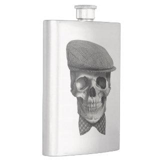 "Canteen of masculine pocket ""Skull of hat "" Hip Flask"