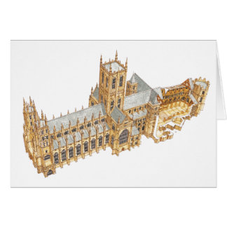 Canterbury Cathedral. Great Britain Card
